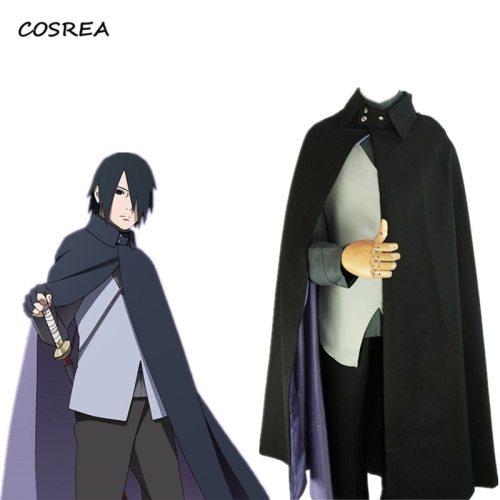 Japanese Anime Boruto Naruto The Movie Uchiha Sasuke Cosplay Costumes Women Men Uniform Suits Sets Halloween Party Props Gift