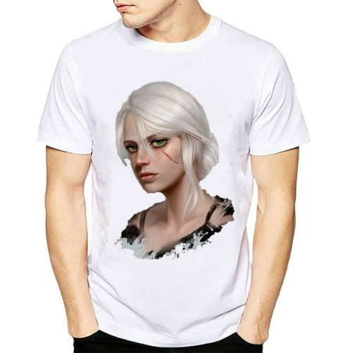 The Witcher 3 T-Shirt Men Short Sleeve O Neck Cool T Shirt Game Clothing New Fashion Harajuku Streetwear Plus Size tshirt