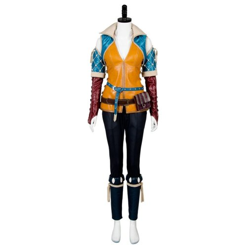 The Witcher 3:Wild Hunt Triss Merigold Cosplay Costume Custom Made