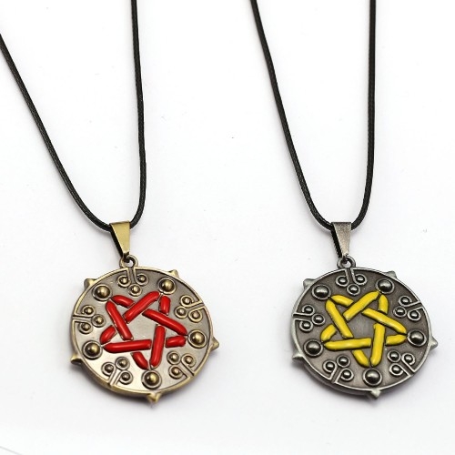 The Witcher 3 Wild Hunt Necklace Yennefer of Vengerberg Rope Pendant fans Gift game Jewelry Accessories YS12173