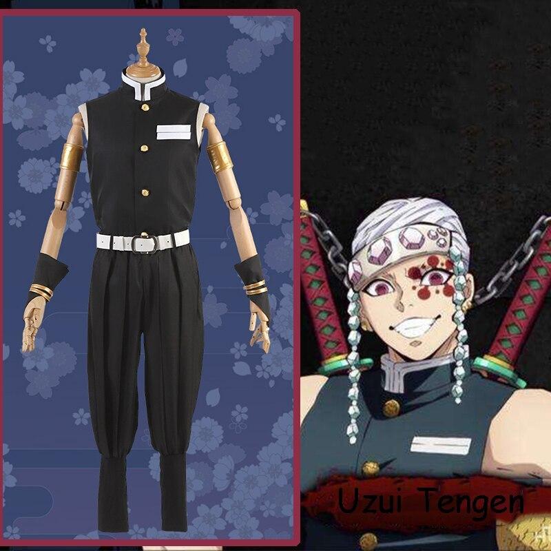 Anime Comic Demon Slayer Kimetsu No Yaiba Cosplay Costumes Uzui Tengen Cosplay Costume Men Outfit Cloth For daily kimetsu no yaiba content make sure to follow @uzuiofficial ! anime comic demon slayer kimetsu no