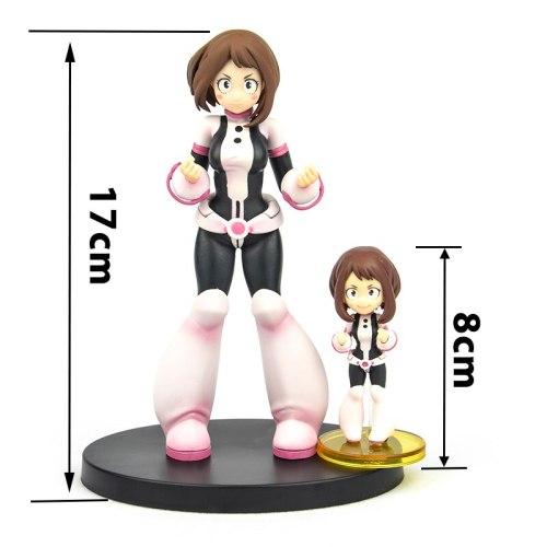 Japan Original genuine Anime My Hero Academia 18cm kawaii OCHACO URARAKA box Action figures toys collection gift