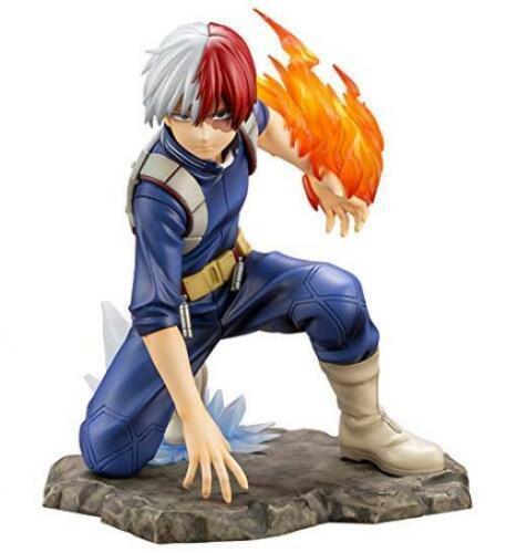 Vogue Tomy ARTFX J Shoto Todoroki Battle Statue Super Hero Comic Anime Statue My Hero Academia Boku no Hero Figure Model Toys