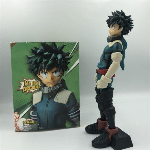 My Hero Academia Boku No Hero Izuku Midoriya Deku Standing Ver. 6th PVC Action Figure Todoroki Shoto Collectible Model 25cm