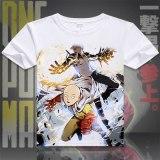 One Punch Man T-Shirt Anime Genos Saitama Cosplay T shirt Fashion Men Women comfortable Tees Summer Short Sleeve Tops