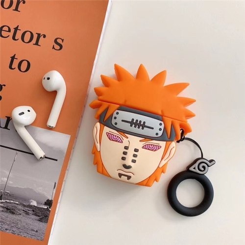 Naruto Payne Airpods1 case and Airpods2 case, wireless bluetooth headset silicone case