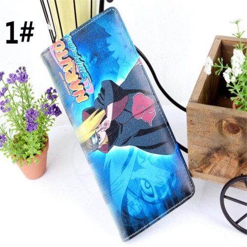 6 styles Naruto Anime Boys Girls Wallet Student Gift  PU purse A984