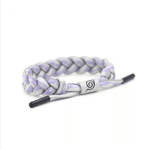 Anime Naruto Fashion Style Adjustable Shoelace Rope Bracelets Wristband Bangles Cosplay Prop Drop Ship