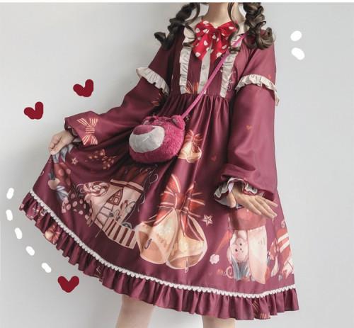 Christmas party OP lolita dress