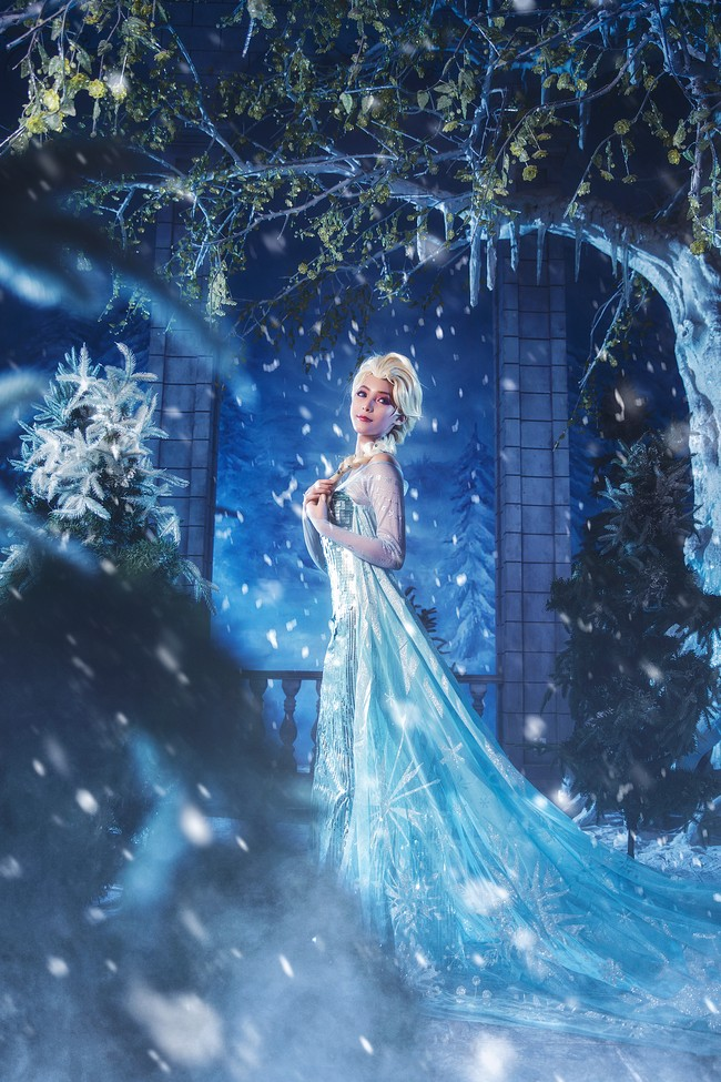 Frozen 2 Elsa Cosplay Welcome to the world of ice and snow