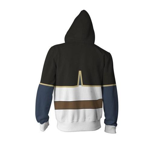 Black Clover Asta Yuno Cosplay Costume 3D Black Clover Hoodies Teens Fashion Cartoon Hooded Sweatshirts Spring Casual Outerwear