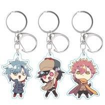 NEW Anime ID: INVADED keychain Sakaito Acrylic Cartoon key ring