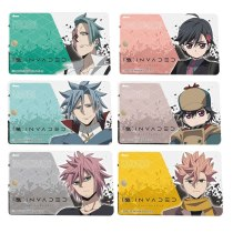 2020 New Anime ID:INVADED Sakaido Cosplay Acrylic Student Card Holder Bus Card Keychain Card Case Cover Keyring Bags Pendant Gif