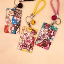 Anime Toilet Bound Hanako Kun Cute Card Cover Keychain Nene Yashiro Kou Minamoto Cosplay Acrylic  Bags Pendant Cartoon Keyring