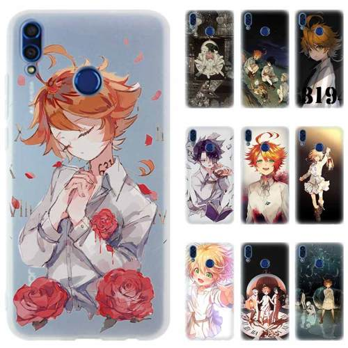 Anime The Promised Neverland Silicone Phone Case For Huawei Honor 8 9 10 20 Lite 8X 8C 8A 9I 9X 10I V20 Pro 10i PLAY 7a PRO