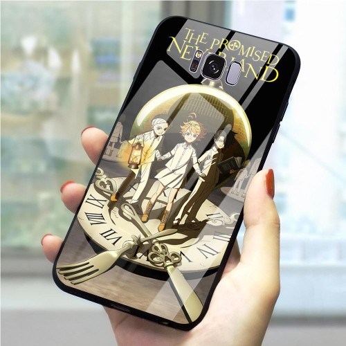 Glass Promised Neverland Phone Cover for Galaxy S10 Case A10 A20 A30 A40 A50 A60 A70 Samsung Note 8 9 10 Plus S7 Edge S8 S9