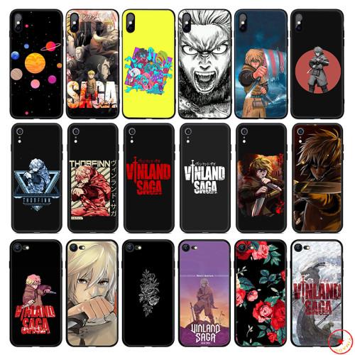 Vinland Saga Anime Soft Silicone Phone Case for iPhone 11 Pro Xs Max X or 10 8 7 6 6S Plus 5 5S SE Xr 6 Plus 7Plus 8 Plus Cover
