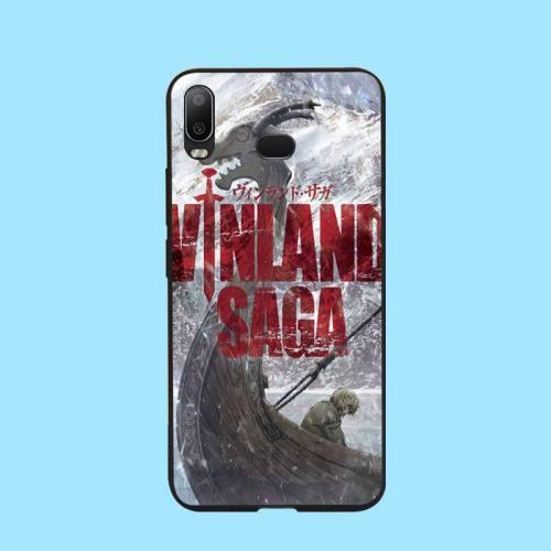 NBDRUICAI Anime Vinland Saga Black Soft Shell Phone Case Capa For Samsung A10 A20 A30 A40 A50 A70 A71 A51 A6 A8 2018