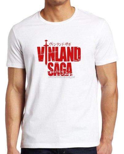 Vinland Saga T Shirt Japanese Anime Gym Tee Viking Thorfinn Mens S - Xxl