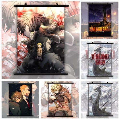 Vinland Saga Anime Manga HD Print Wall Poster Scroll