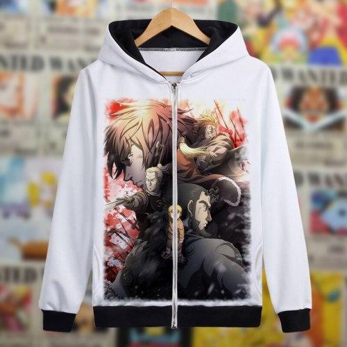 VINLAND SAGA Hoodie Thorfinn Cosplay Costume Anime Jacket Coat Spring Autumn Sweatshirts