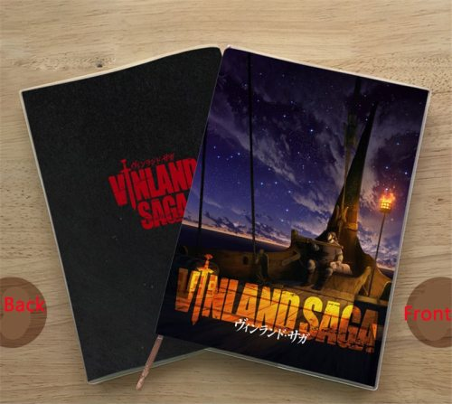 1pcs Japan Anime VINLAND SAGA Notebook Paper Notepad Student Diary Book Cosplay Accessories for Boy Girl Note Book Hot