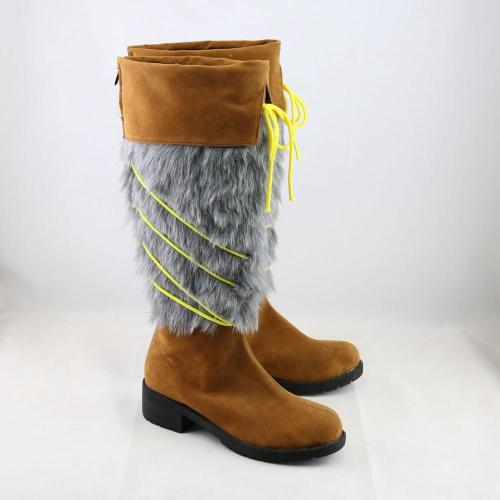 Anime Vinland Saga Cosplay Thorfinn Viking Pirate Boot Costume Shoes