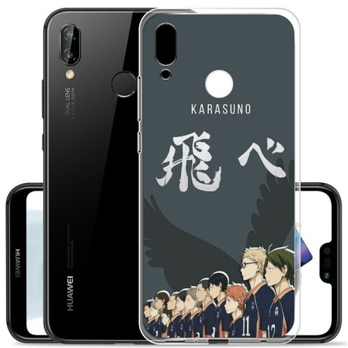 Anime Haikyuu Love Volleyball SOFT TPU Silicone Phone Case for huawei P40 P30 Pro P20 lite P10 P9 P8Lite P-SMart 2019 cover