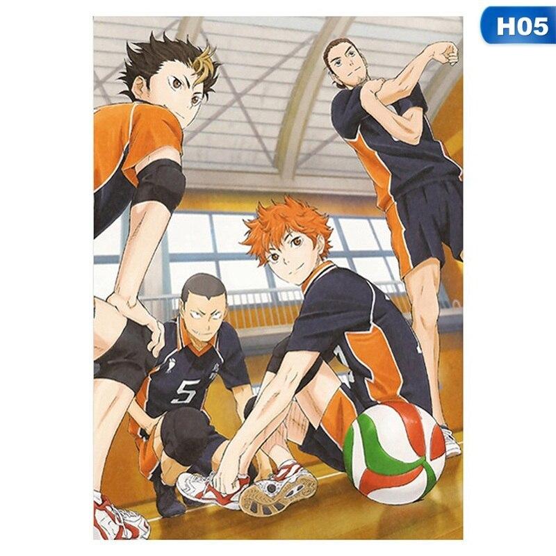 mwioq Diy Digital Painting Volleyball Boy Digital Paint Haikyuu Japan Style Cartoon Poster Modular Painting Anime Posters-42X29Cm/_02