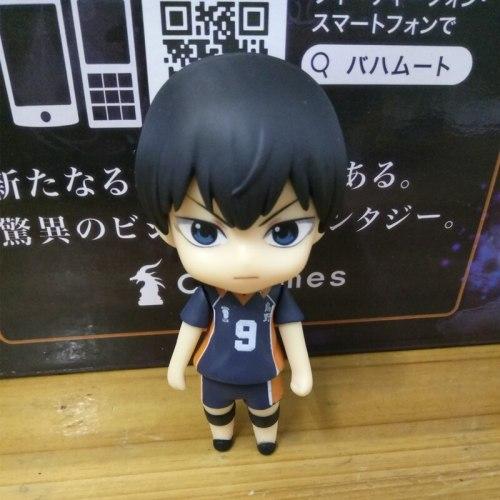 Anime Haikyuu Kageyama Tobio PVC Action Figure Collectible Model doll toy 10cm 489#