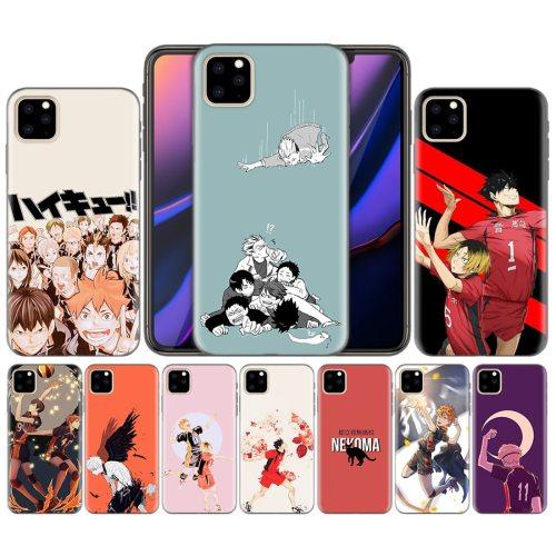 Phone Case Cover For iphone XR XS Max X 7 8 6 6S Plus 11 11Pro Max 5 5S 5C SE 7Plus 8Plus Haikyuu Nekoma Anime Case