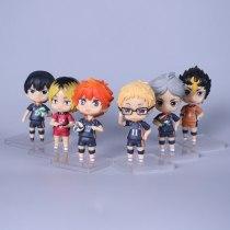 Haikyuu!! Volleyball Athlete Hinata Shoyo Oikawa Tooru Kageyama Tobio Tsukishima Kei Kozume Kenma Action Figure Model Toys Doll