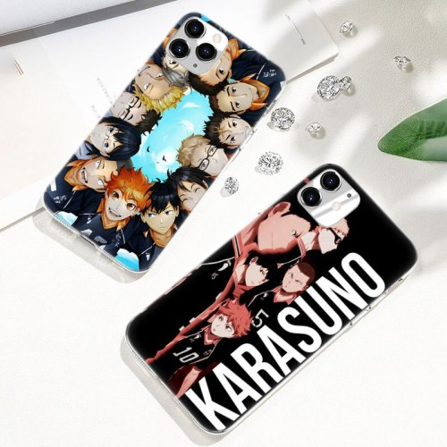 Hot Haikyuu Hinata Anime Volleyball Soft Silicone Case for Apple iPhone 11 Pro XS Max X XR 6 6s 7 8 Plus 5 5s SE Fashion Cover