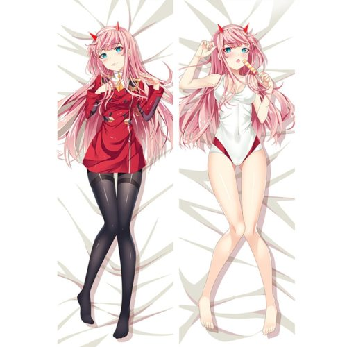 Anime DARLING in the FRANXX-zero two pillow Cover Dakimakura case Sexy girl 3D Double-sided Bedding Hugging Body pillowcase DF02