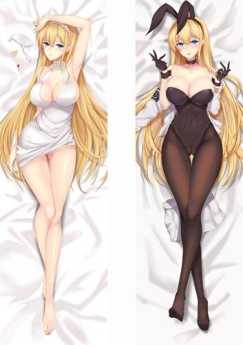 Dakimakura Body Japanese Anime  Azur Lane 150x50cm 100x35cm Pillow Case Cover Manga 4