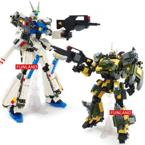 Hot super gundam robot Forseti mech building block Hound battle mecha model bricks assemblage toys collection for boys gifts