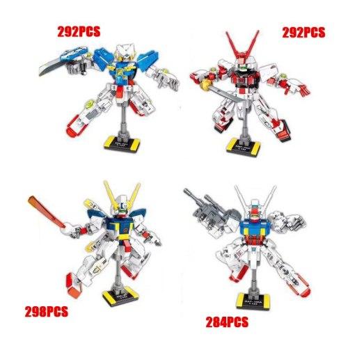 Hot super robot war gundam 0079 EXIA Red Astray Crossbone X1 building block mech model bricks toys collection for boys gifts