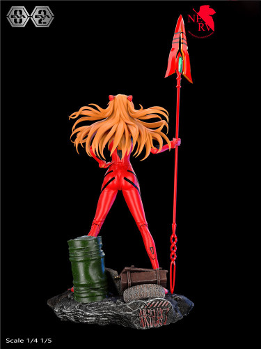 NEON GENESIS EVANGELION 02 Asuka Langley Soryu 50cm statue animation GK figure limited edition 50 sets