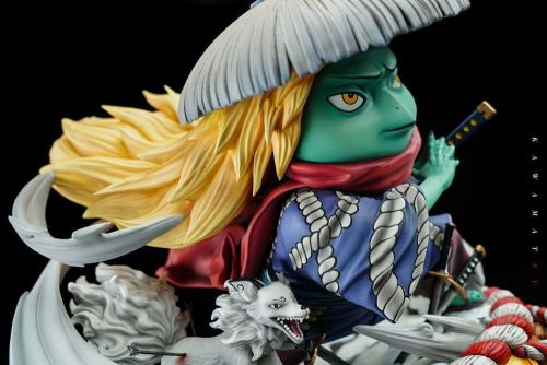 One Piece Chisao Nine Heroes--Henggang Hesong Limited Hand-made Statue 27cm high, 26cm wide, 24cm deep