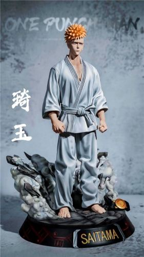 ONE PUNCH-MAN - OMG One Punch Man-Saitama Limited Edition Statue 1/6 Height 31cm, Width 19cm, Depth 20cm