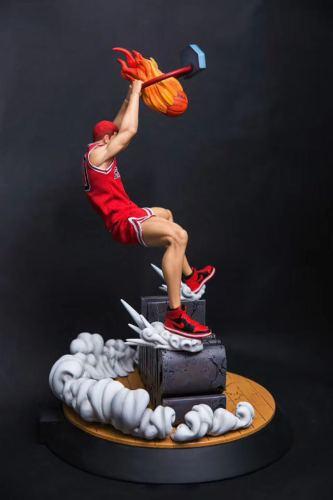 Slam Dunk Sakuragi Sakuragi Flower Road GK Figure Figure Length 37cm Width 37cm Height 51cm