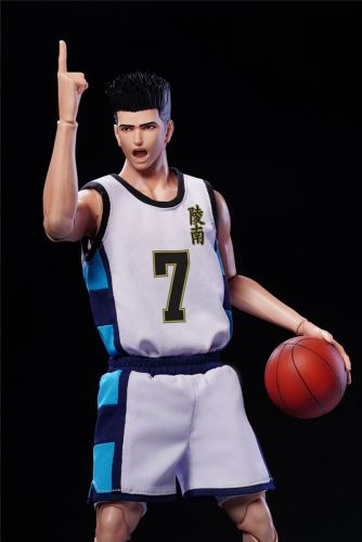 Slam Dunk 1/6 Joint Movable No. 7 Buddha Hedgehog Head Basketball Player Spot 6 inches