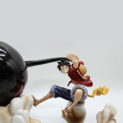 Anime One Piece Monkey D Luffy Gear 3 Anime figure 17cm GK Luffy Gear Third PVC action figure Collection Model Toys