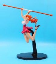One Piece banpresto world figure colosseum 2 vol. 3 red ball fight jump Nami Action Figure Figurine model stature