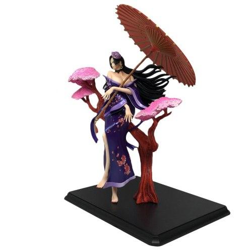 One Piece GK Kabuki Boa Hancock Anime Action Figure Model 31cm Sexy Girl Statue Doll Collection Toy Desktop Decoration Figma