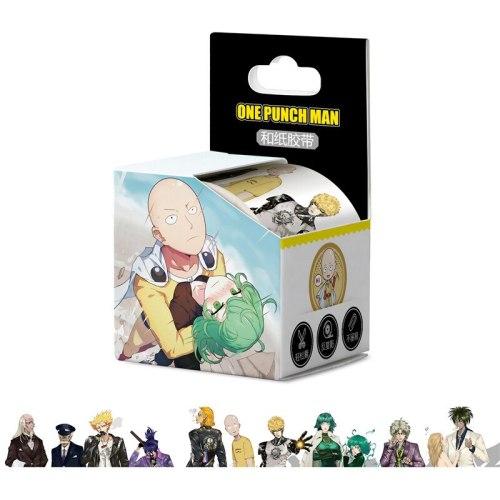 10 boxes Anime ONE PUNCH-MAN Tape TOY Saitama Genos Senritsu no Tatsumaki Washi Tape Paper Hand account sticker