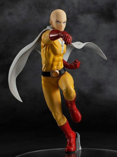 18CM Japanese Anime One Punch Man Saitama Hero Costume Ver. Genos PVC Action Figure Collection Model Toys Doll Gift Brinquedos