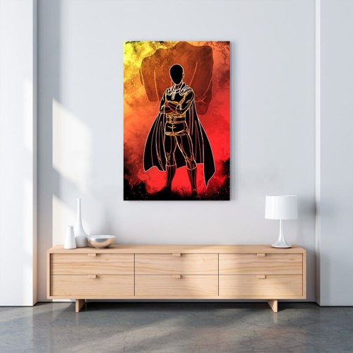 ONE PUNCH-MAN Saitama Poster Canvas Wall Art Decoration prints for living Kid Children room Home bedroom decor Painting Picture