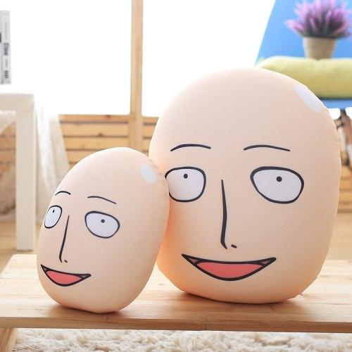 25/40cm ONE PUNCH MAN re-make Saitama Plush Toys Dolls Cushion Stuffed Cartoon Figure Toys