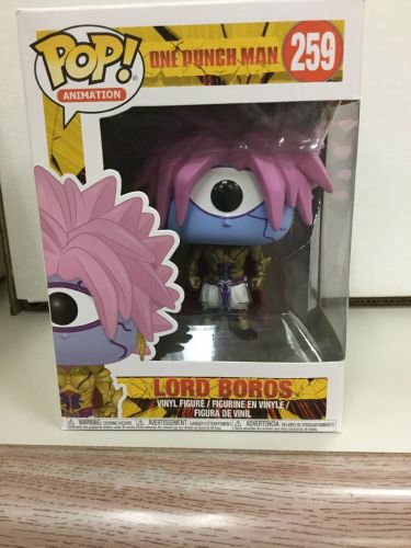 Official Funko pop Anime: One Punch Man - Lord Boros Vinyl Action Figure Collectible Model Toy with Original Box